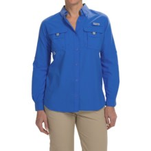 Columbia Sportswear PFG Bahama Shirt - UPF 30, Long Sleeve (For Women) in Stormy Blue - Closeouts