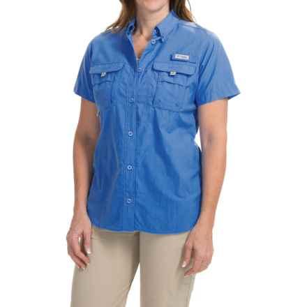 Columbia Sportswear PFG Bahama Shirt - UPF 30, Short Sleeve (For Women) in Stormy Blue - Closeouts
