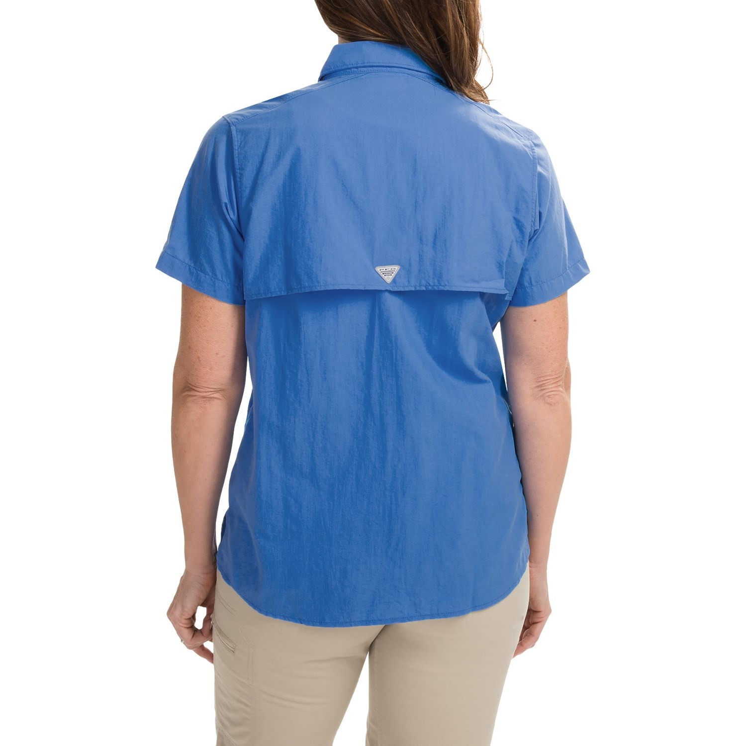 Columbia sportswear pfg bahama shirt for women for Columbia shirts womens pfg