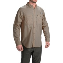 Columbia Sportswear PFG Baitcaster Fishing Shirt - UPF 50+, Long Sleeve (For Men) in Sage - Closeouts