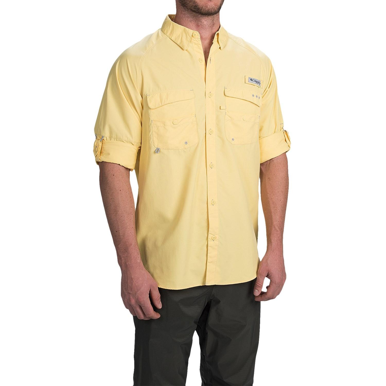 Columbia sportswear pfg baitcaster fishing shirt for men for Men s columbia fishing shirts