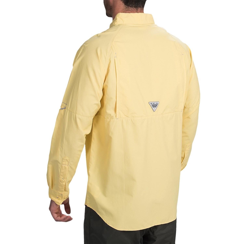 Columbia Sportswear Pfg Baitcaster Fishing Shirt For Men