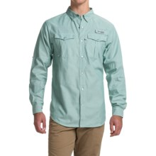 Columbia Sportswear PFG Beadhead Oxford Shirt - Long Sleeve (For Men) in Gemstone Oxford - Closeouts