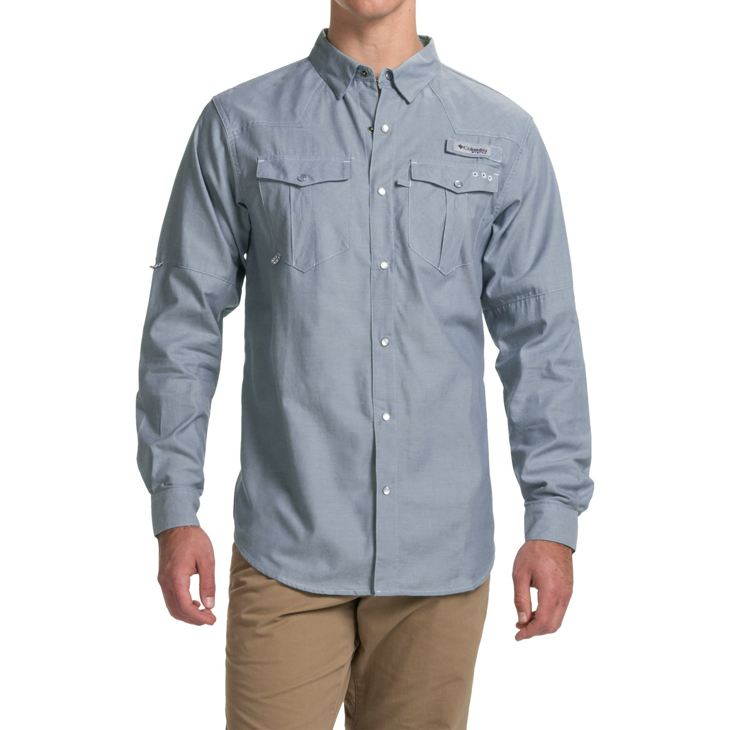Columbia sportswear pfg beadhead oxford shirt for men for Columbia shirts womens pfg