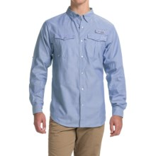 Columbia Sportswear PFG Beadhead Oxford Shirt - Long Sleeve (For Men) in Vivid Blue Oxford - Closeouts