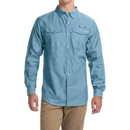Columbia Sportswear PFG Beadhead Oxford Shirt - Long Sleeve (For Men) in Windswept Oxford - Closeouts