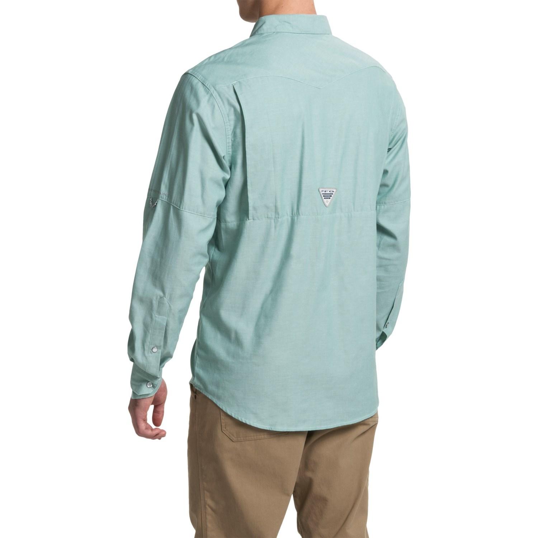 Columbia Sportswear Pfg Beadhead Oxford Shirt For Men