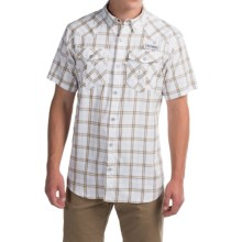 Columbia Sportswear PFG Beadhead Shirt - Omni-Wick®, UPF 30, Short Sleeve(For Men) in Stinger Plaid - Closeouts