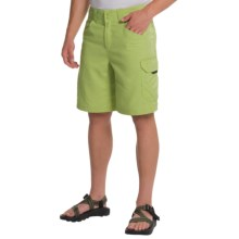 Columbia Sportswear PFG Big Katuna II Omni-Shield® Shorts - UPF 50 (For Men) in Napa Green - Closeouts