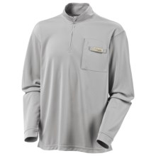 Columbia Sportswear PFG Blood and Guts Shirt - UPF 30, Zip Neck, Long Sleeve (For Men) in Cool Grey - Closeouts