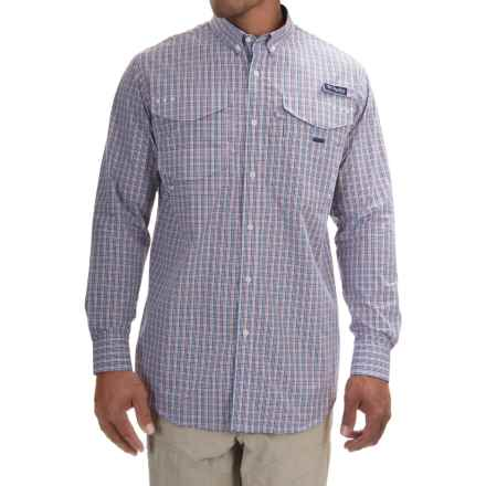 Columbia Sportswear PFG Bonefish 2 Shirt - Long Sleeve (For Men) in Collegiate Navy Plaid - Closeouts