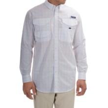 Columbia Sportswear PFG Bonefish 2 Shirt - Long Sleeve (For Men) in Gulf Stream Plaid - Closeouts