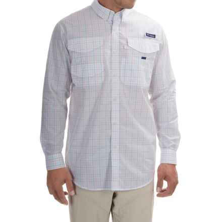 Columbia Sportswear PFG Bonefish 2 Shirt - Long Sleeve (For Men) in Gulf Stream Plaid - Closeouts