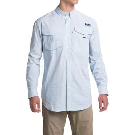 Columbia Sportswear PFG Bonefish 2 Shirt - Long Sleeve (For Men) in Sorbet Plaid - Closeouts