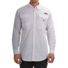 Columbia Sportswear PFG Bonefish 2 Shirt - Long Sleeve (For Men) in Sunset Red Plaid - Closeouts