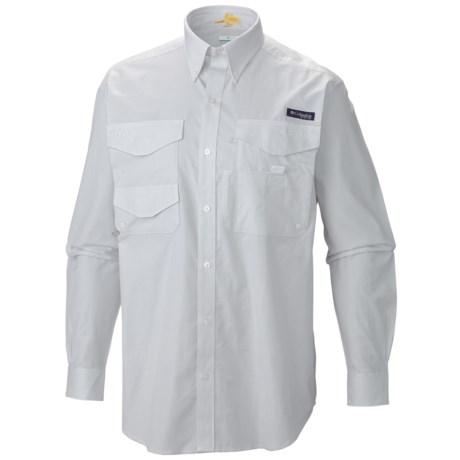 Columbia Sportswear PFG Bonefish Shirt - UPF 30, Long Sleeve (For Men) in Cool Grey/Chambray