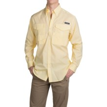 Columbia Sportswear PFG Bonefish Shirt - UPF 30, Long Sleeve (For Men) in Sunlit Mini Gingham - Closeouts