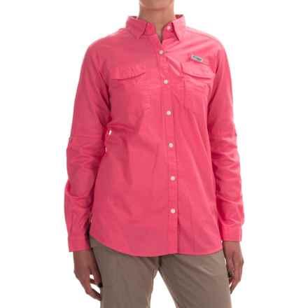 Columbia Sportswear PFG Bonehead II Fishing Shirt - Long Sleeve (For Women) in Bright Geranium - Closeouts