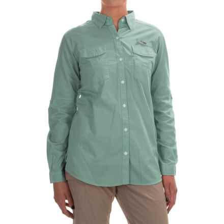 Columbia Sportswear PFG Bonehead II Fishing Shirt - Long Sleeve (For Women) in Dusty Green - Closeouts
