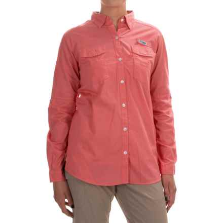 Columbia Sportswear PFG Bonehead II Fishing Shirt - Long Sleeve (For Women) in Hot Coral - Closeouts