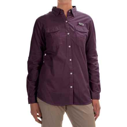 Columbia Sportswear PFG Bonehead II Fishing Shirt - Long Sleeve (For Women) in Purple Dahlia - Closeouts