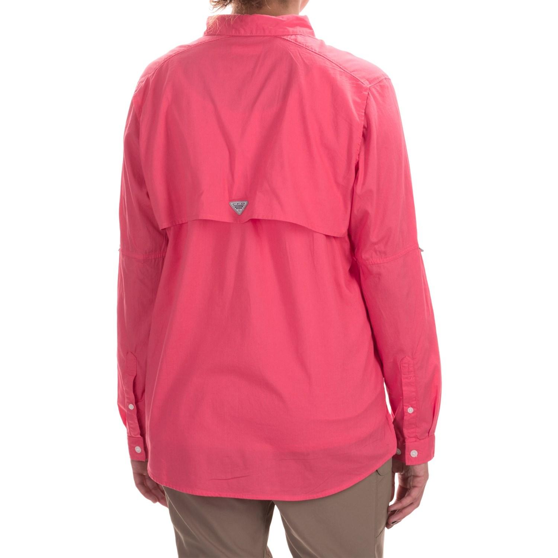 Columbia sportswear pfg bonehead ii fishing shirt for women for Fishing long sleeve shirts