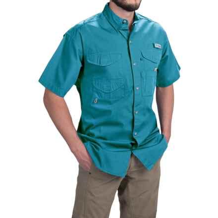Columbia Sportswear PFG Bonehead Shirt - Short Sleeve (For Men) in Deep Marine - Closeouts