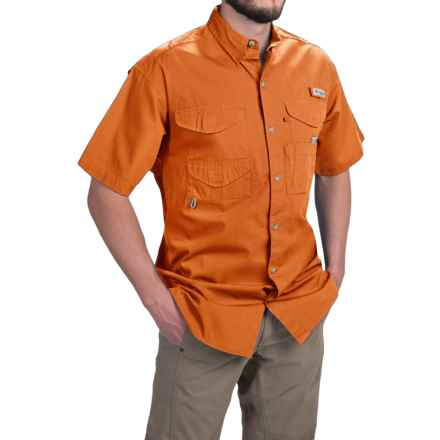 Columbia Sportswear PFG Bonehead Shirt - Short Sleeve (For Men) in Valencia - Closeouts