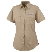 Columbia Sportswear PFG Bonehead Shirt - Short Sleeve (For Women) in Fossil - Closeouts