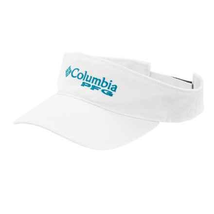 Columbia Sportswear PFG Bonehead Visor in White - Closeouts