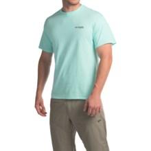 Columbia Sportswear PFG By The Shore Dorado T-Shirt - Crew Neck, Short Sleeve (For Men) in Gulf Stream - Closeouts