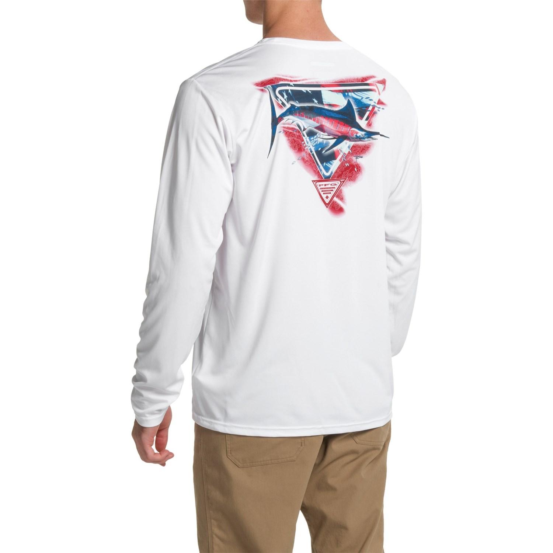 columbia sportswear pfg by the shore t shirt for men