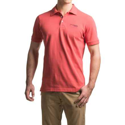 Columbia Sportswear PFG Charter Polo Shirt - Short Sleeve (For Men) in Sunset Red - Closeouts