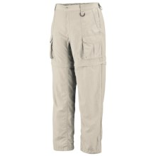 Columbia Sportswear PFG Convertible Pants - UPF 15 (For Tall Men) in Fossil - Closeouts