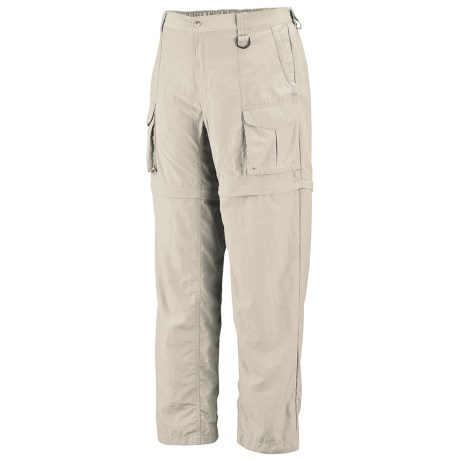 Columbia Sportswear PFG Convertible Pants - UPF 15 (For Tall Men) in Fossil