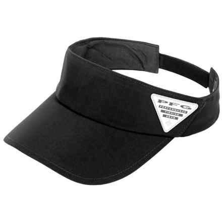 Columbia Sportswear PFG Coolhead II Visor - Omni-Freeze® ZERO (For Men) in Black/Pfg - Closeouts