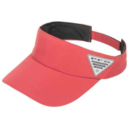 Columbia Sportswear PFG Coolhead II Visor - Omni-Freeze® ZERO (For Men) in Sunset Red - Closeouts