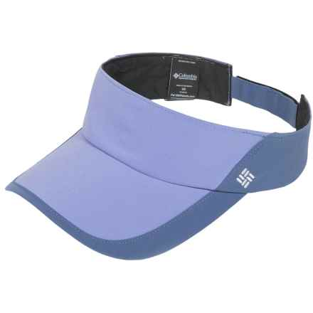 Columbia Sportswear PFG Coolhead II Visor - Omni-Freeze® ZERO (For Women) in Pale Purple Bluebell - Closeouts