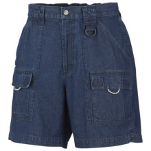 Columbia Sportswear PFG Denim Brewha II Shorts (For Women) in Washed Indigo - Closeouts