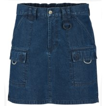 Columbia Sportswear PFG Denim Brewha II Skirt - UPF 50 (For Women) in Washed Indigo - Closeouts
