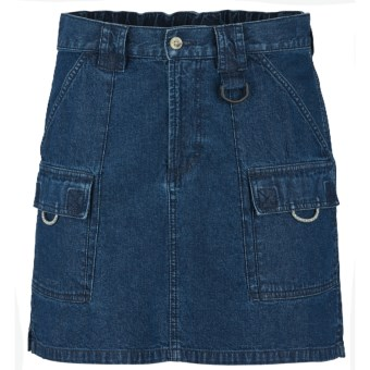 Columbia Sportswear PFG Denim Brewha II Skirt - UPF 50 (For Women) in Washed Indigo