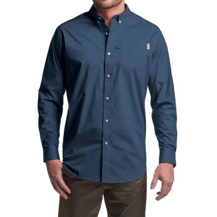 Columbia Sportswear PFG Dockside Shirt - Long Sleeve (For Men) in Collegiate Navy - Closeouts