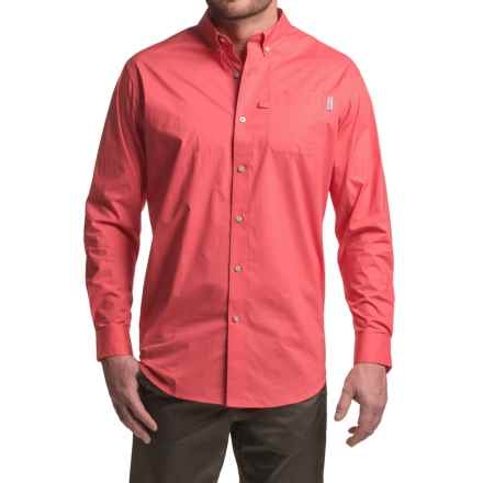 Columbia Sportswear PFG Dockside Shirt - Long Sleeve (For Men) in Sunset Red - Closeouts
