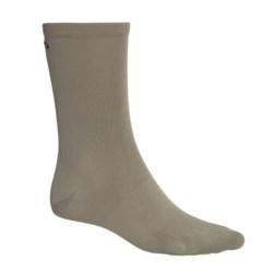 Columbia Sportswear PFG Freezer Low Socks - Lightweight, Crew (For Men and Women) in Sage
