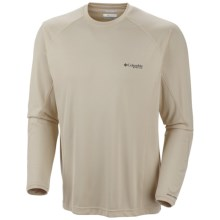 Columbia Sportswear PFG Freezer Shirt - UPF 50, Long Sleeve (For Men) in Fossil - Closeouts