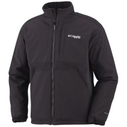 Columbia Sportswear PFG Gale Warning Omni-Heat® Fleece Jacket (For Men) in Black