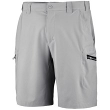 Columbia Sportswear PFG Grander Marlin Tech Shorts - UPF 50 (For Men) in Cool Grey - Closeouts