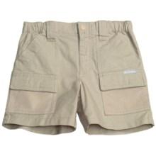 Columbia Sportswear PFG Half Moon Shorts - UPF 50 (For Little Boys) in Fossil - Closeouts