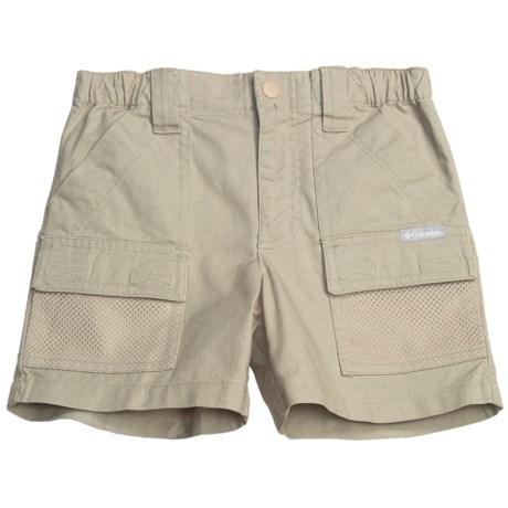 Columbia Sportswear PFG Half Moon Shorts - UPF 50 (For Little Boys) in Fossil