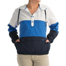 Columbia Sportswear PFG Harborside Windbreaker Jacket (For Women) in Stormy Blue - Closeouts